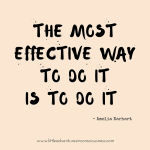 the most effective way to do it,is to do it